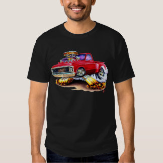 1970-72 Chevy C10 Red Truck T Shirt