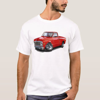 1970-72 Chevy C10 Red Truck T-Shirt