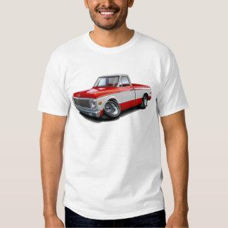 1970-72 Chevy C10 Red-White Truck Tee Shirt