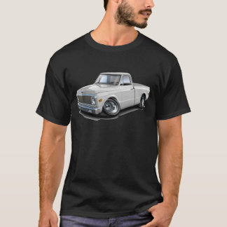 1970-72 Chevy C10 White Truck T-Shirt