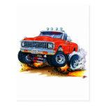 1970-72 Chevy CK1500 Red Truck Postcard