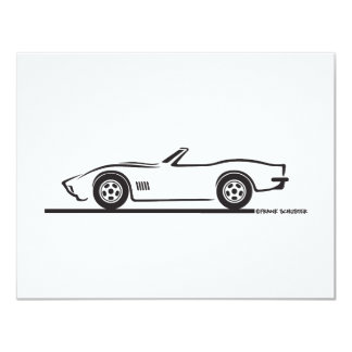 1970-72 Corvette Convertible Card