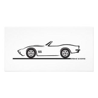 1970-72 Corvette Convertible Photo Card