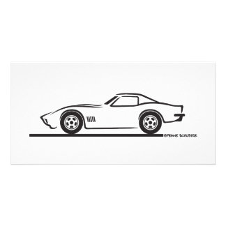 1970-72 Corvette Photo Card