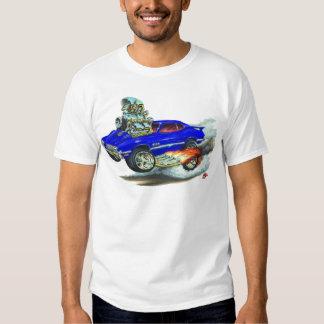 1970-72 Olds Cutlass 442 Blue Car Tee Shirt