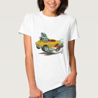 1970-72 Olds Cutlass 442 Gold Car Tee Shirt