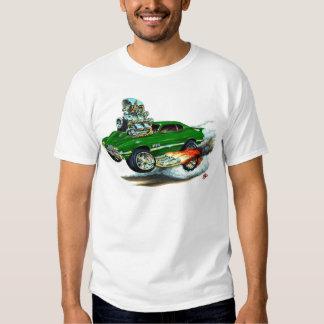 1970-72 Olds Cutlass 442 Green Car Tee Shirt