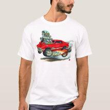 1970-72 Olds Cutlass 442 Red Car T-Shirt