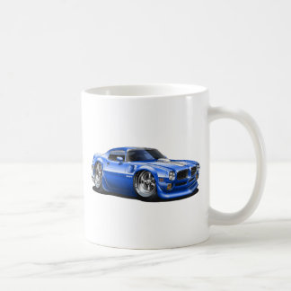 1970/72 Trans Am Blue Car Coffee Mug