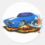 1970-72 Trans Am Blue Car Stickers