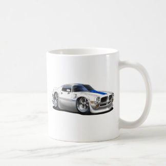 1970/72 Trans Am White Car Coffee Mug