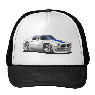 1970/72 Trans Am White Car Trucker Hat