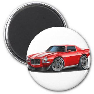 1970-73 Camaro Red/Wht 2 Inch Round Magnet