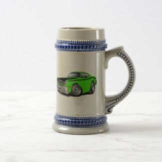 1970-74 Duster 340 Lime Car Beer Stein