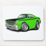 1970-74 Duster 340 Lime Car Mouse Pads