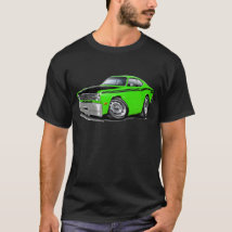 1970-74 Duster 340 Lime Car T-Shirt