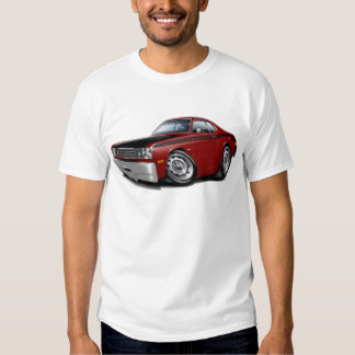1970-74 Duster 340 Maroon Car Shirt