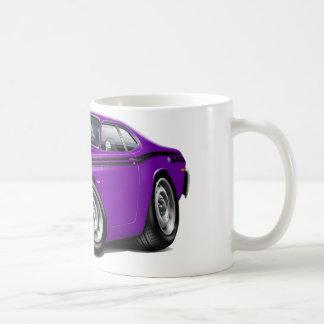 1970-74 Duster 340 Purple Car Coffee Mug