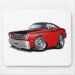 1970-74 Duster 340 Red Car Mouse Pad