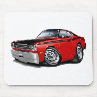 1970-74 Duster 340 Red Car Mousepads