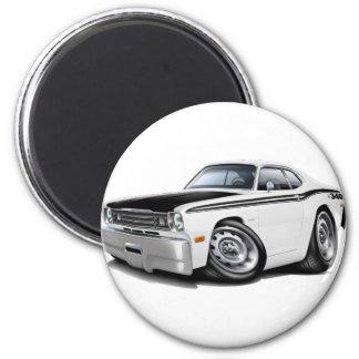 1970-74 Duster 340 White Car Magnet