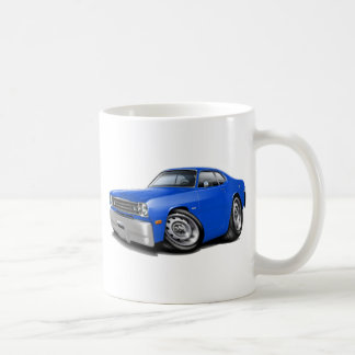 1970-74 Duster Blue Car Coffee Mug