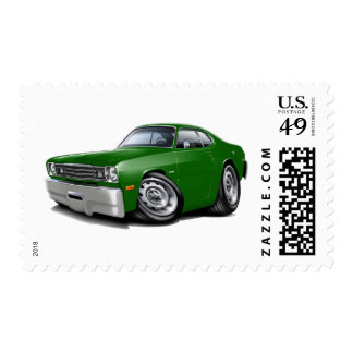 1970-74 Duster Green Car Stamp