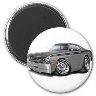 1970-74 Duster Grey-Black Car Magnet