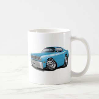 1970-74 Duster Lt Blue-White Car Coffee Mug