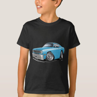 1970-74 Duster Lt Blue-White Car T-Shirt