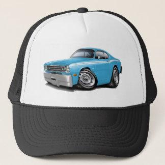 1970-74 Duster Lt Blue-White Car Trucker Hat
