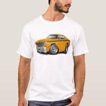 1970-74 Duster Orange Black Car T-Shirt
