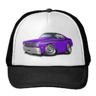 1970-74 Duster Purple-Black Top Car Trucker Hat
