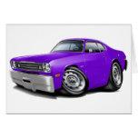 1970-74 Duster Purple Car Cards