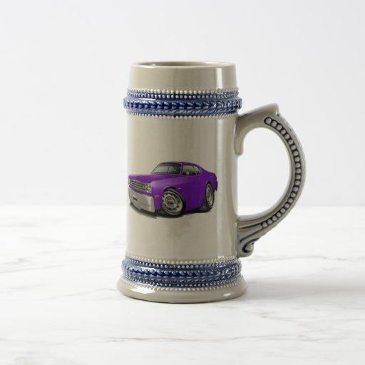 1970-74 Duster Purple Car Coffee Mug