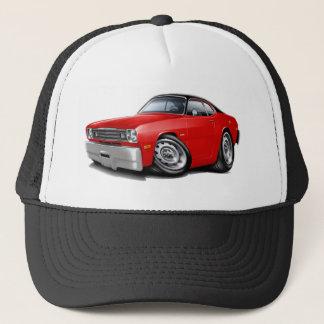 1970-74 Duster Red-Black Top Car Trucker Hat