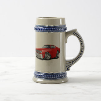 1970-74 Duster Red Car Beer Stein