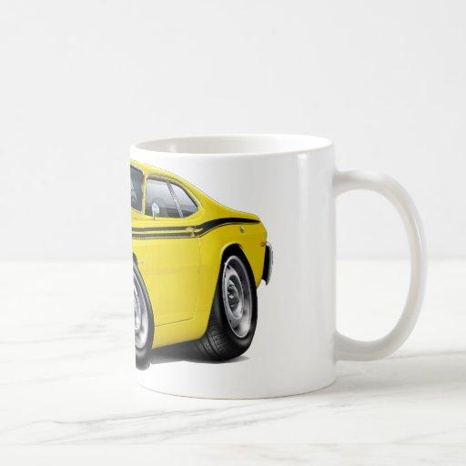 1970-74 Duster Yellow-Black Car Coffee Mug