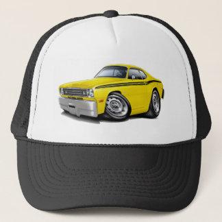 1970-74 Duster Yellow-Black Car Trucker Hat