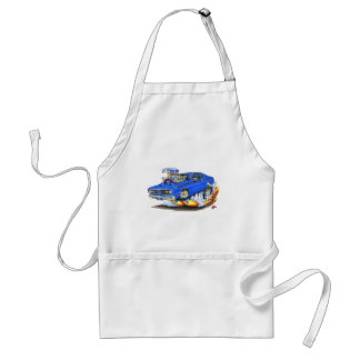 1970-74 Plymouth Duster Blue Car Adult Apron