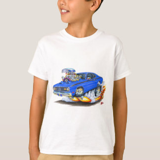 1970-74 Plymouth Duster Blue Car T-Shirt