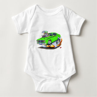 1970-74 Plymouth Duster Lime Car Baby Bodysuit