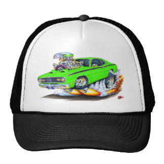 1970-74 Plymouth Duster Lime Car Trucker Hat