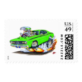 1970-74 Plymouth Duster Lime Car Postage