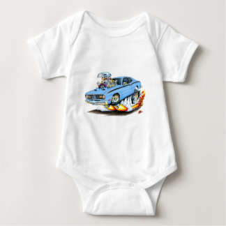 1970-74 Plymouth Duster Lt Blue Car Baby Bodysuit