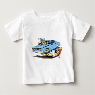 1970-74 Plymouth Duster Lt Blue Car Baby T-Shirt