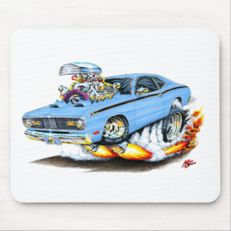 1970-74 Plymouth Duster Lt Blue Car Mouse Pad