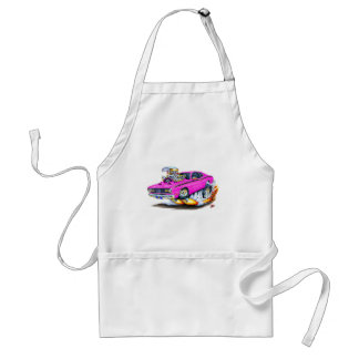 1970-74 Plymouth Duster Pink Car Adult Apron