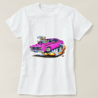 1970-74 Plymouth Duster Pink Car T-Shirt