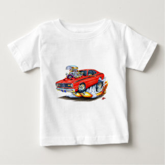 1970-74 Plymouth Duster Red Car Baby T-Shirt